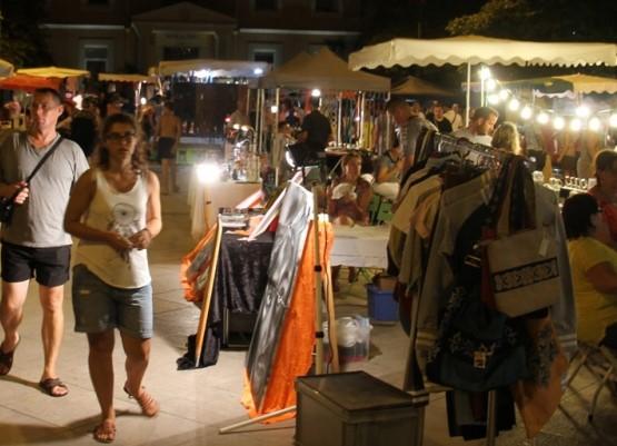 Le marché nocturne de Vidauban
