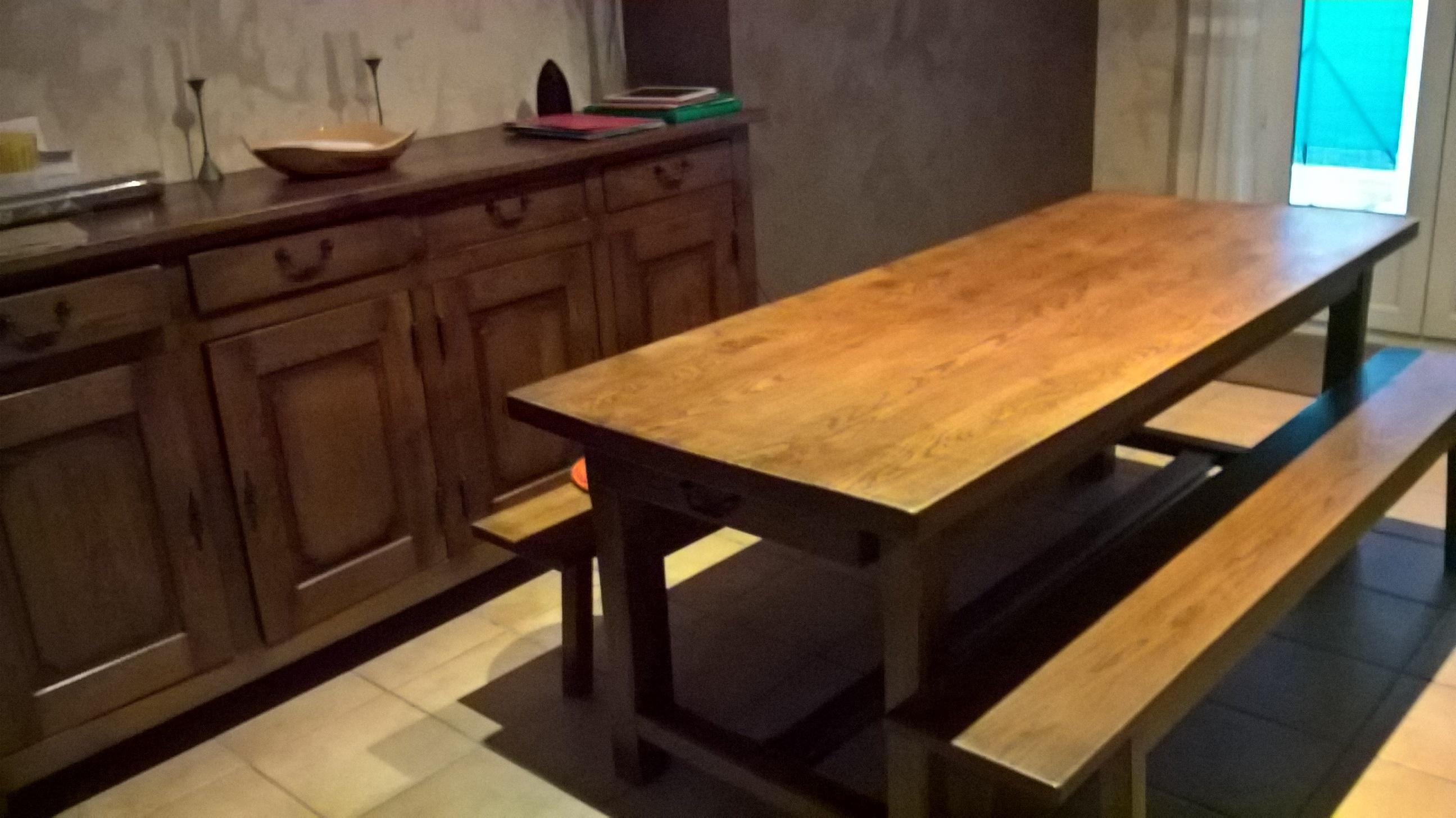 salle manger campagnarde mes patines ador es. Black Bedroom Furniture Sets. Home Design Ideas