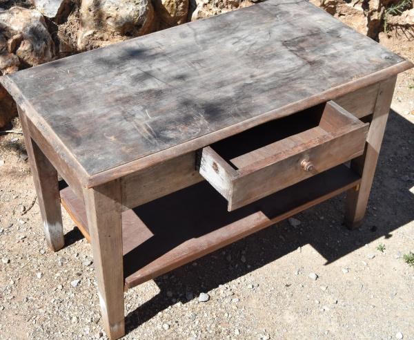 TABLE BASSE D'APPOINT EN BOIS