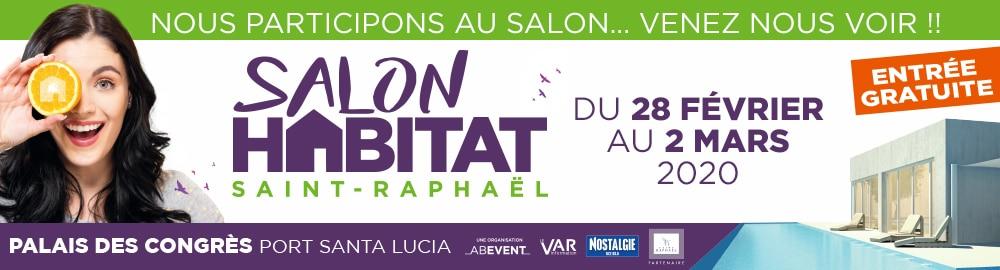 Salon de l'habitat à Saint Raphaêl