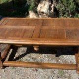 TABLE BASSE EN CHÊNE NATUREL