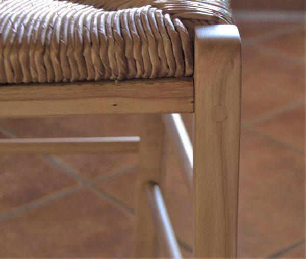 TABLE RONDE EN CHÂTAIGNIER