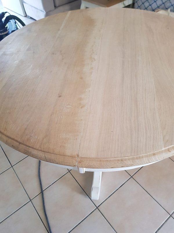 TABLE RONDE EN CHENE
